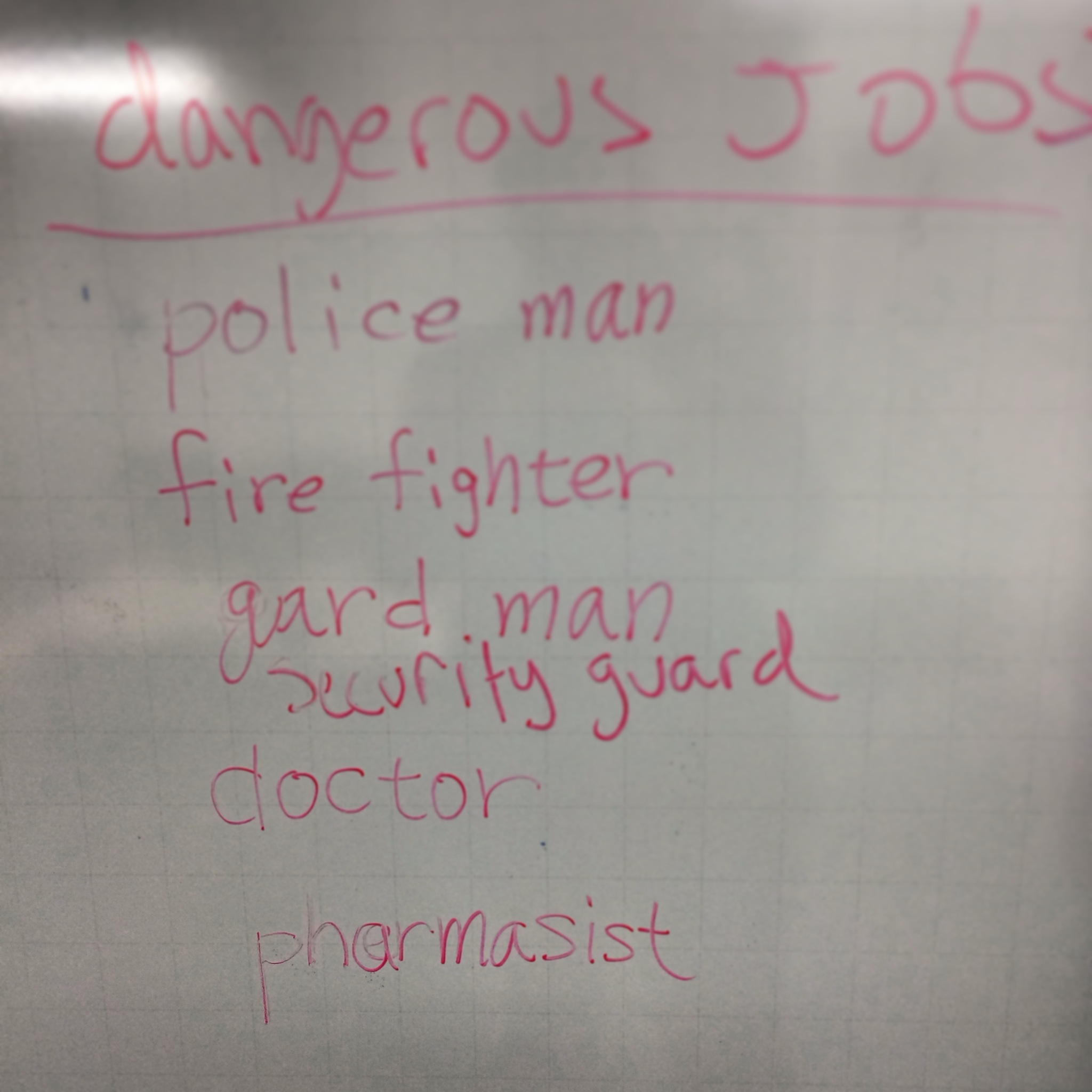 Two of these dangerous jobs are not like the other.