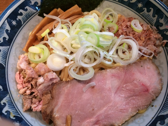 Tonikaku's normal sized bowl of Abura Soba.  780 yen.
